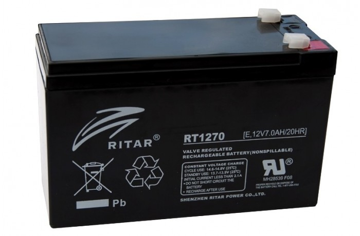 RITAR RT1270 7Ah battery