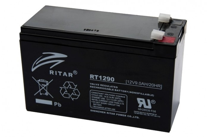 RITAR RT1290 9Ah battery