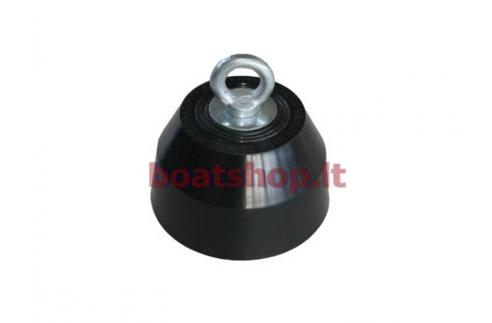 Rubber coated anchor