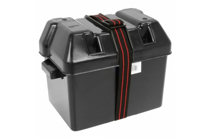 Dėžė akumuliatoriui VE812