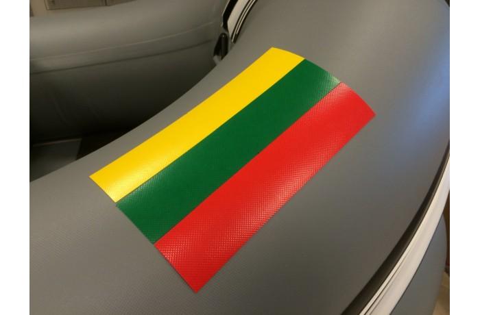 LT vėliava iš PVC medžiagos