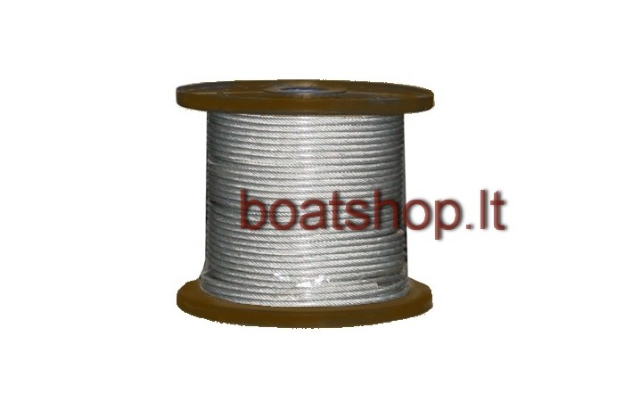 Wire rope 7x7 A4 PVC coated