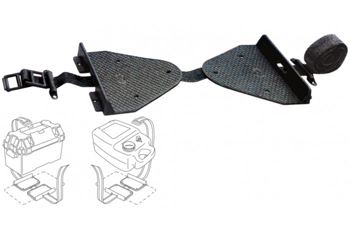 Battery or fuel tank holder