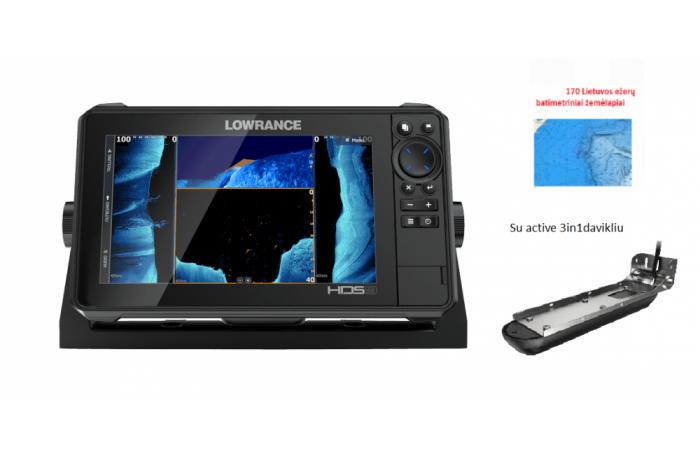 Lowrance HDS-9 LIVE with...
