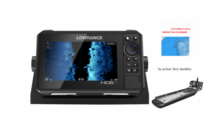 Lowrance HDS-7 LIVE with...