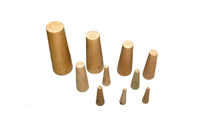 Wooden plugs 10pcs.