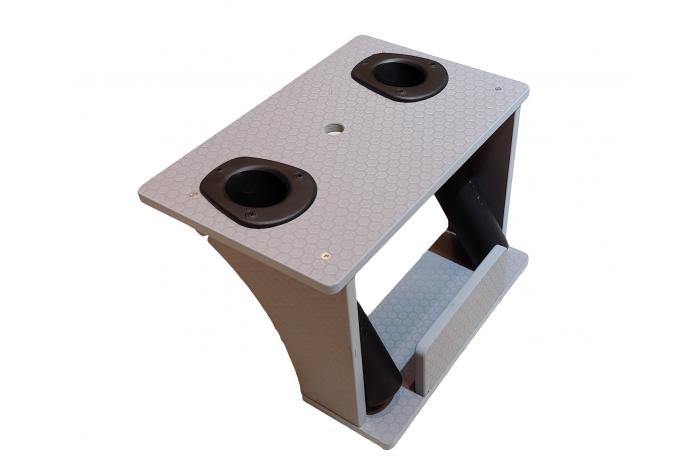 Platform for rods and sonar