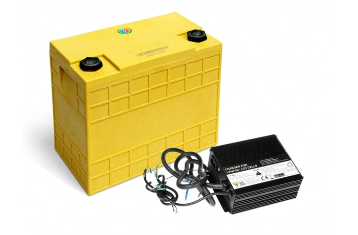LiFePo4 60Ah battery with...