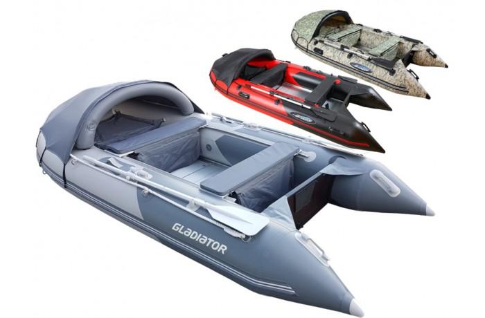 Gladiator C370 AL boat