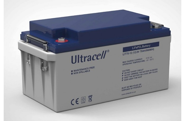 ULTRACELL LIT 75-12 12.8V...