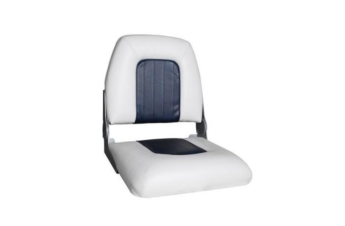 Kėdė balta / mėlyna 04975