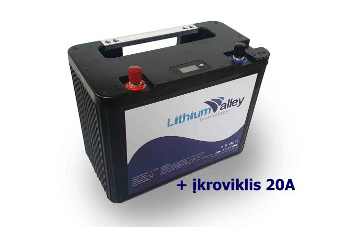 Lithium Valley 12V 100Ah...