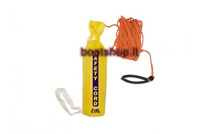 Safety cord with bag