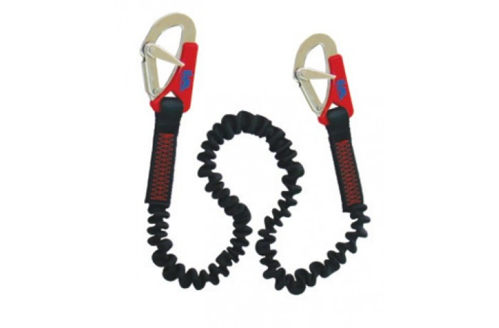 Safety line elastic with...