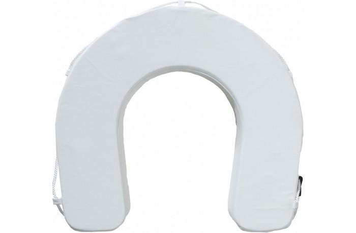 Lifebuoy horseshoe white