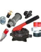Drainage parts, pumps