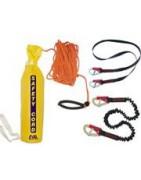 Safety belts, ropes