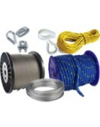 Ropes, wire ropes and accesories